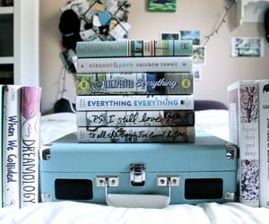 book, read, and suitcase image