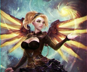 angel, video game, and fanart image