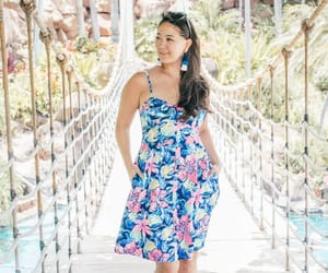 dress, fashion, and lilly image