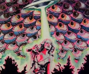 alien, art, and eyes image