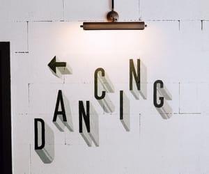 aesthetic, b&w, and dancing image