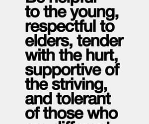 supportive, be respectful to elders, and be helpful to the young image
