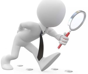 detektiv, etterforskning, and forfalskning image