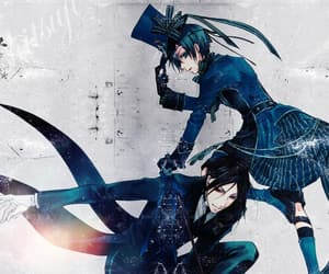 black butler, earl, and phantomhive image