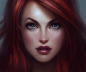 art, league of legends, and miss fortune image