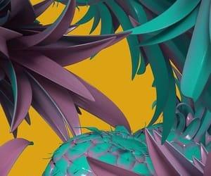 pineapple, summer, and beakgrounde image