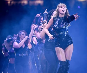 performing, Reputation, and tour image