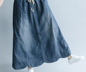 etsy, maxiskirt, and long skirt image