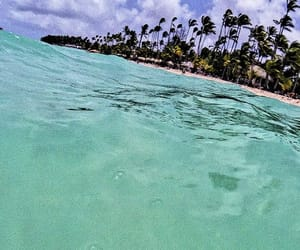 beach, dominican, and good image