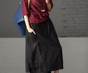 etsy, long skirts, and summer skirt image