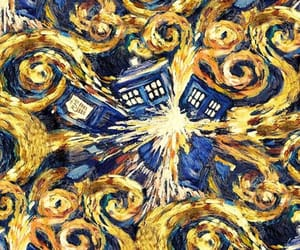 tardis, art, and wallpaper image