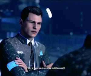 Connor, dbh, and depressed image