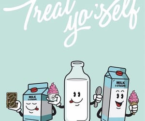 bar, milk, and treat yourself image