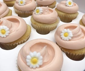 bakery, buttercream, and cupcake image