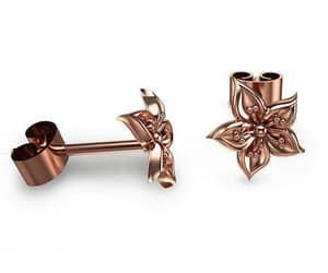 etsy, goldearrings, and stud earrings image