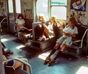 70s, vintage, and girls image