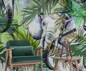 apartment, elephant, and home decor image