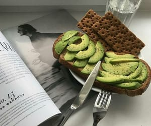 aesthetic, food, and avocado image