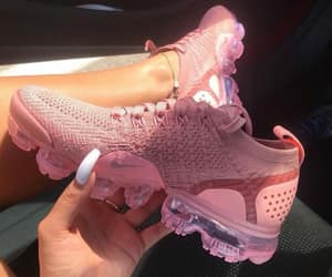 pink, sneakers, and nicke image
