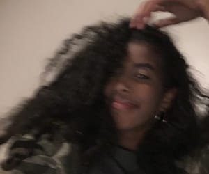 army, curly hair, and flou image