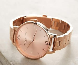 rose gold and watch image