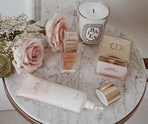 rose, beauty, and candle image