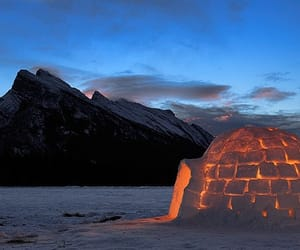 adventure, igloo, and snow image