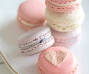 desserts, sweets, and macarons image