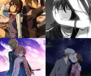 anime, kiss, and opening image
