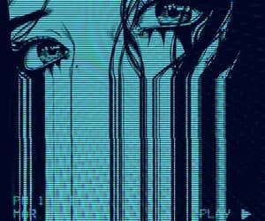 anime, eyes, and aesthetic image