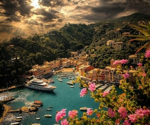 travel, italy, and portofino image