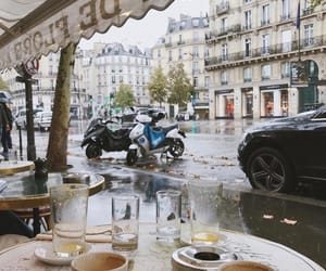 coffee, city, and cafe image