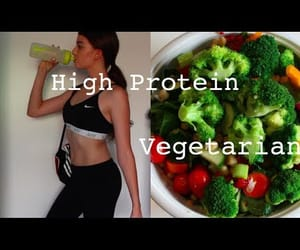 abs, vegetarian, and healthy food image
