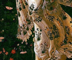 art, botticelli, and detail image