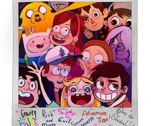 steven universe, adventure time, and gravity falls image