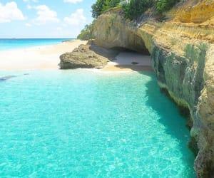 Anguilla, sea, and summer image