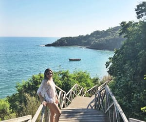 beach, brazil, and buzios image