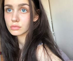 blue eyes, babygirl, and dreamy image