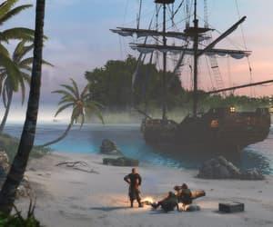 black flag, assassin's creed, and game screenshot image