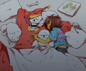 art, frisk, and papyrus image