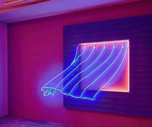 neon, pink, and purple image