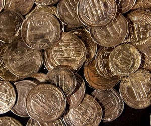 aesthetic, coins, and currency image