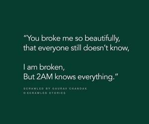 apart, beautiful, and break up image