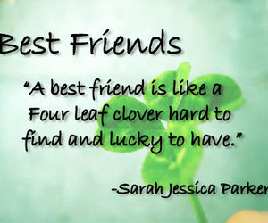 quote, best friends, and friends image