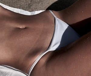 bikini, fit, and fitness image