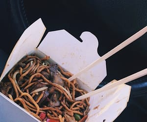 chinese food, food, and noodles image