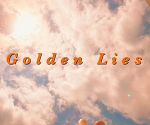 aesthetic, lies, and golden image