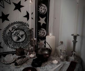 occult, photography, and witchy image