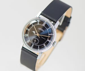 etsy, leather watch, and roman numerals image
