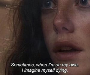skin, quotes, and sad image